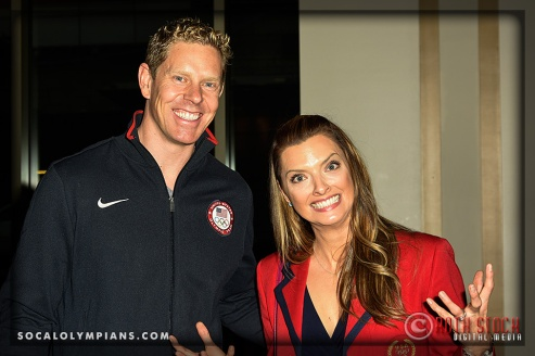 Olympians Sky Christopherson (L) and Tamara Christopherson