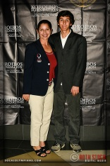 Gina Miles, Equestrian; Beijing; 2008, and Son