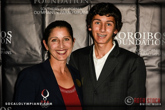 """Private Screening of """"Unbroken"""" in Honor of Olympian Louis Zamperini, Hosted by the Southern California Olympians & Paralympians and the Koroibos Foundation"""