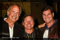 (L-R) Olmpians John Naber, Brian Godell and Cliff Meidl