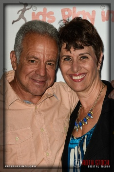 Dave Sarachan, Associate Head Coach of the LA Galaxy, with his wife Cheri Sarachan