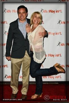 Skiier Scott Rosenbaum and Olympian Tracy Evans-Land