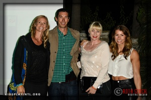 (L-R) Jaime Komer, Matt Komer, Anne Poulin and Jennifer Widerstrom
