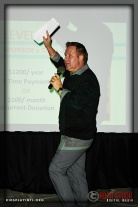Auctioneer Tony Shaw from Charity Works