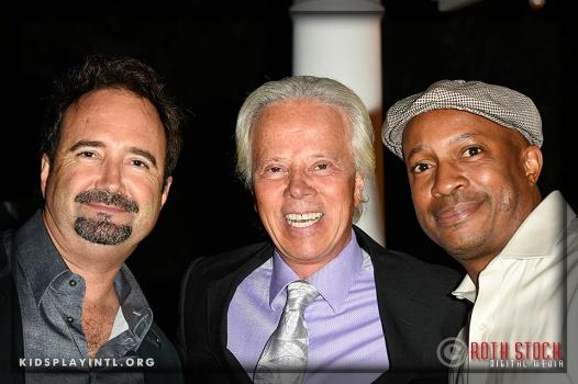 Kris Erik Stevens (C), Mark Moore (R) and guest