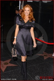 "Actress Angelica Bridges attends ""Of Corsets For A Good Cause"" 2nd Annual Lingerie Art Auction & Fashion Show"