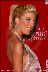 """Actress Tori Spelling attends """"Of Corsets For A Good Cause"""" 2nd Annual Lingerie Art Auction & Fashion Show"""