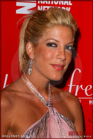 "Actress Tori Spelling attends ""Of Corsets For A Good Cause"" 2nd Annual Lingerie Art Auction & Fashion Show"