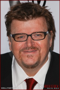 Michael Moore arrives at the Broadcast Film Critics Association 10th Annual Critic's Choice Awards