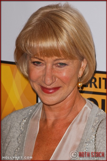 Helen Mirren arrives at the Broadcast Film Critics Association 10th Annual Critic's Choice Awards
