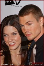 Sophia Bush and Chad Michael Murray arrive at the Broadcast Film Critics Association 10th Annual Critic's Choice Awards