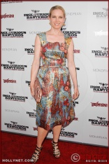 Bridget Fonda attends the Los Angeles Premiere of Inglourious Basterds