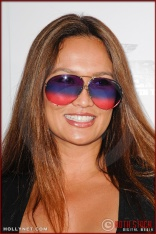 Tia Carrere attends the Los Angeles Premiere of Inglourious Basterds