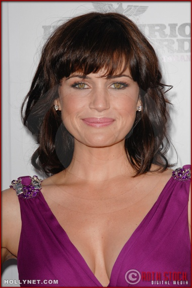 Carla Gugino attends the Los Angeles Premiere of Inglourious Basterds