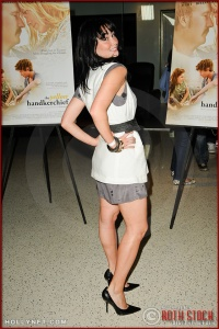 "Kristen Ruhlin attends the premiere of ""The Yellow Handkerchief"""