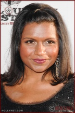 Mindy Kaling attends the Los Angeles Premiere of Inglourious Basterds