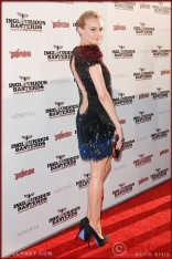 Diane Kruger attends the Los Angeles Premiere of Inglourious Basterds
