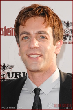 B.J. Novak attends the Los Angeles Premiere of Inglourious Basterds