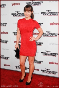 Christina Ricci attends the Los Angeles Premiere of Inglourious Basterds