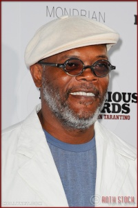 Samuel L. Jackson attends the Los Angeles Premiere of Inglourious Basterds