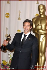 Actor Adrien Brody in the Press Room at the 75th Annual Academy Awards®