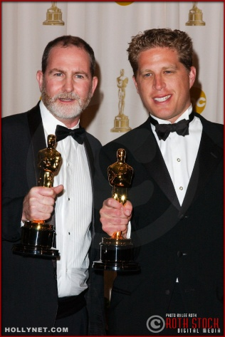 Bill Guttentag and Robert David Port in the Press Room at the 75th Annual Academy Awards®
