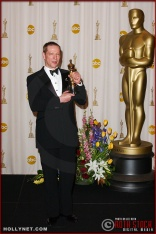 Actor Chris Cooper in the Press Room at the 75th Annual Academy Awards®