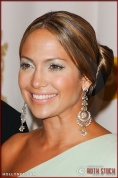 Jennifer Lopez in the Press Room at the 75th Annual Academy Awards®