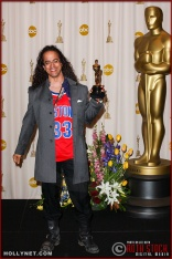 Luis Resto in the Press Room at the 75th Annual Academy Awards®