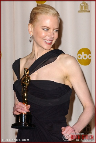 Actress Nicole Kidman in the Press Room at the 75th Annual Academy Awards®