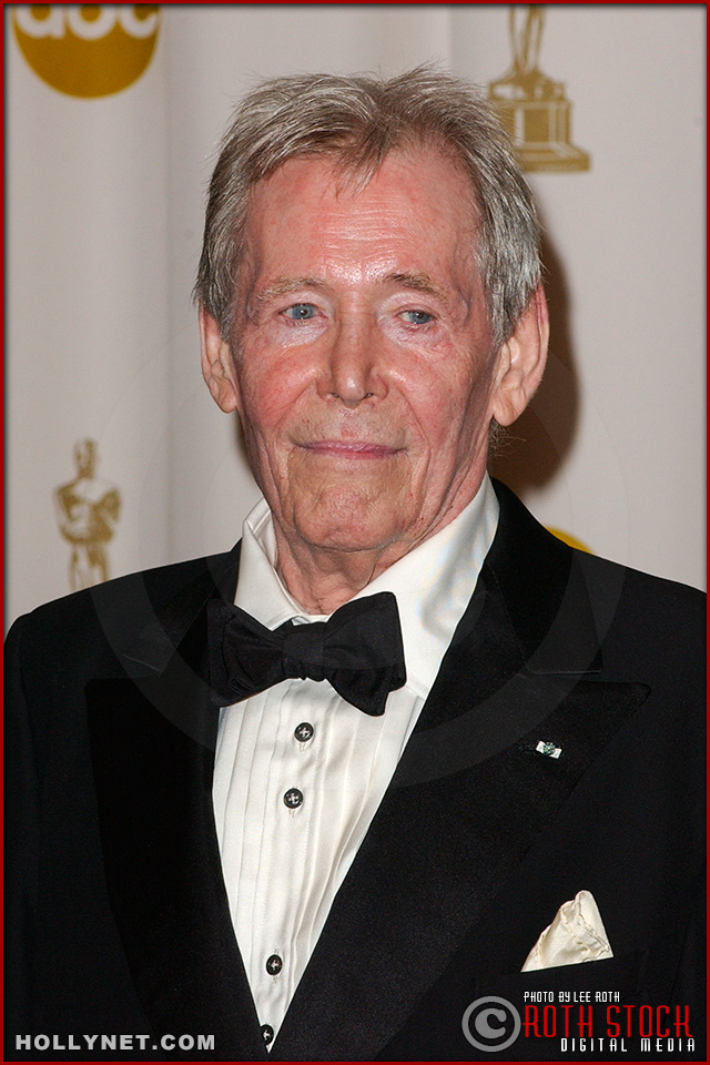 Actor Peter O'Tool in the Press Room at the 75th Annual Academy Awards®