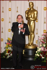 Writer Ronald Harwood in the Press Room at the 75th Annual Academy Awards®