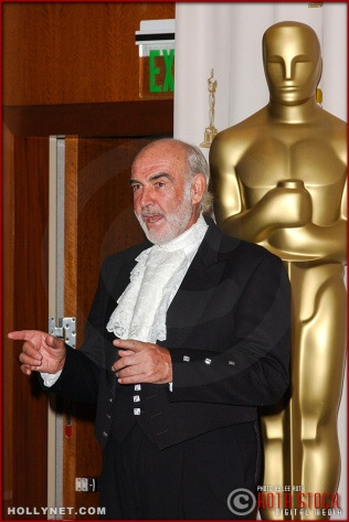 Actor Sean Connery in the Press Room at the 75th Annual Academy Awards®