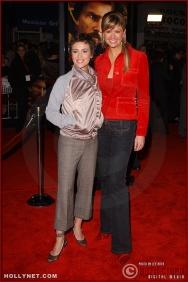 """(L-R) Actress Alyssa Milano and television personality Nancy O'Dell attend the U.S. premiere of """"The Last Samurai"""""""