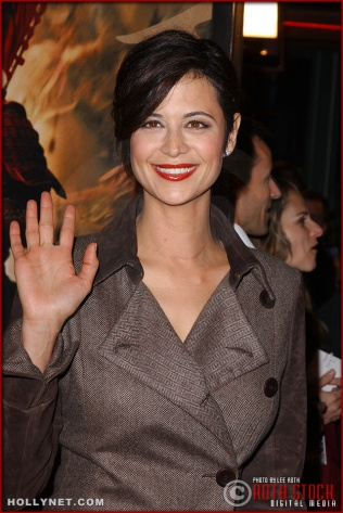 "Actress Catherine Bell attends the U.S. premiere of ""The Last Samurai"""