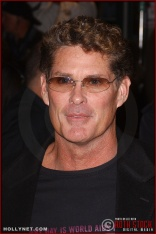 "Actor David Hasselhoff attends the U.S. premiere of ""The Last Samurai"""