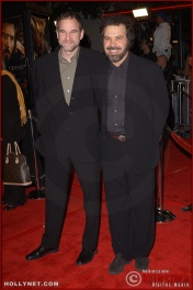 "(L-R) Producer Marshall Herskovitz and producer/director/writer Edward Zwick attend the U.S. premiere of ""The Last Samurai"""