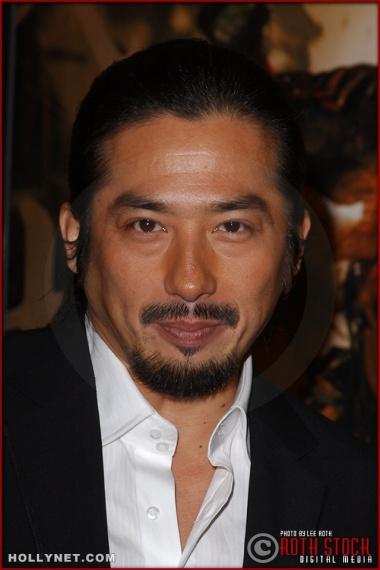 "Actor Hiroyuki Sanada attends the U.S. premiere of ""The Last Samurai"""