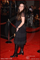 """Actress Holly Marie Combs attends the U.S. premiere of """"The Last Samurai"""""""