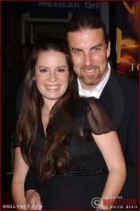 """Actress Holly Marie Combs and fiance David Donoho attend the U.S. premiere of """"The Last Samurai"""""""