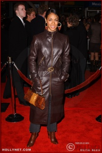 "Actress Jada Pinkett Smith attends the U.S. premiere of ""The Last Samurai"""