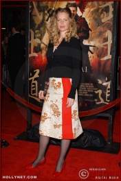 "Actress Kristen Bauer attends the U.S. premiere of ""The Last Samurai"""