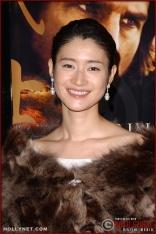 "Actress Koyuki attends the U.S. premiere of ""The Last Samurai"""