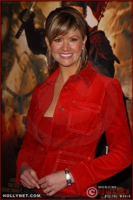 "Television personality Nancy O'Dell attends the U.S. premiere of ""The Last Samurai"""