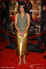 "Actress Parminder Nagra attends the U.S. premiere of ""The Last Samurai"""