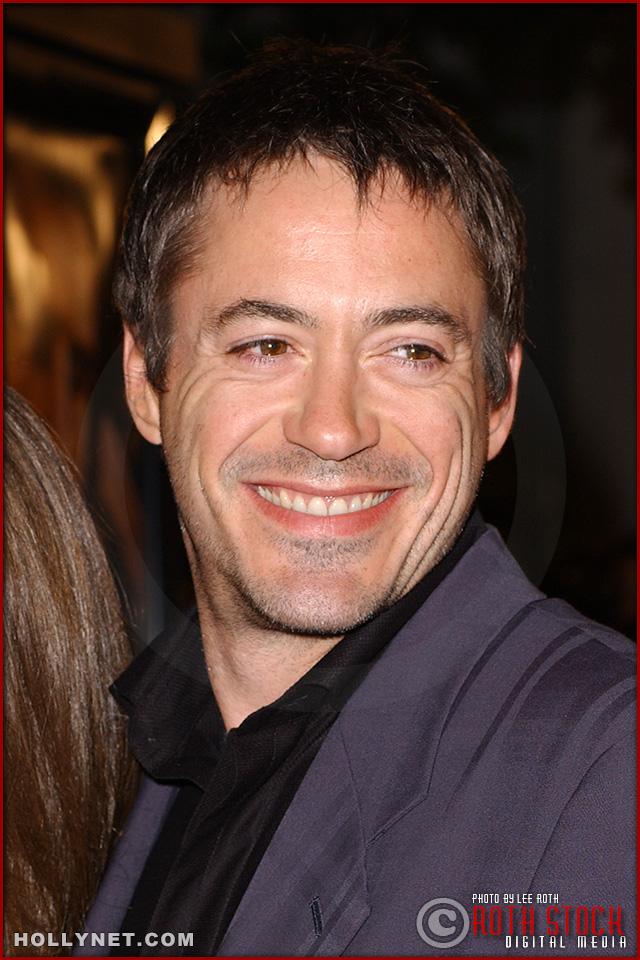 "Actor Robert Downey, Jr. attends the U.S. premiere of ""The Last Samurai"""