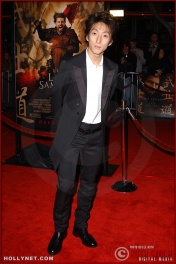 "Actor Shichinosuke Nakamura attends the U.S. premiere of ""The Last Samurai"""