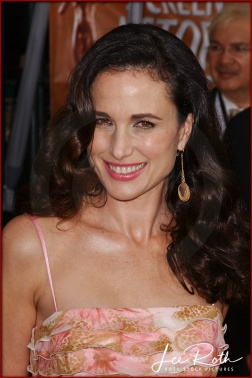 Actress Andie MacDowell attends the 10th Annual Screen Actors Guild Awards