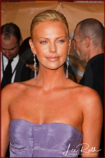 Actress Charlize Theron attends the 10th Annual Screen Actors Guild Awards