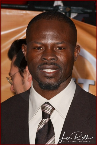 Actor Djimon Hounsou attends the 10th Annual Screen Actors Guild Awards